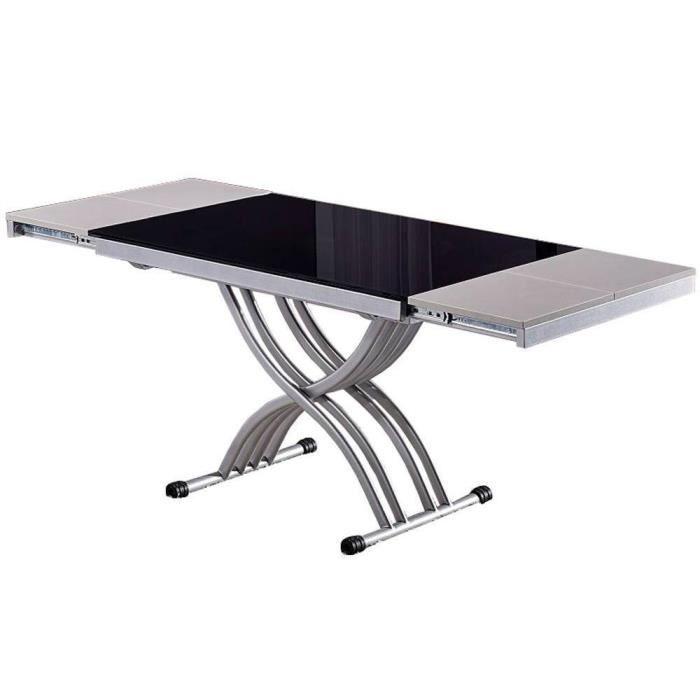 TABLE BASSE Table basse NEWFORM relevable extensible, plateau