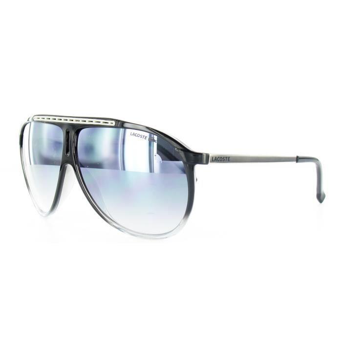 Lunettes de soleil LACOSTE L653S 003 Noir - Achat   Vente lunettes ... a9f7292936c7