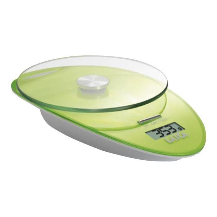 LAICA KS1005 Balance de cuisine vert - Achat / Vente balance ...