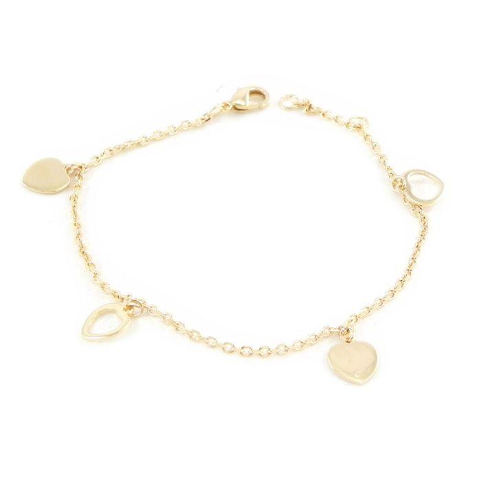 Bracelet Plaqué Or Chorégraphie love