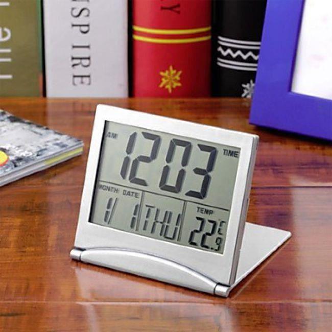 Réveil Calendrier Numérique Pliable Avec Thermomètre