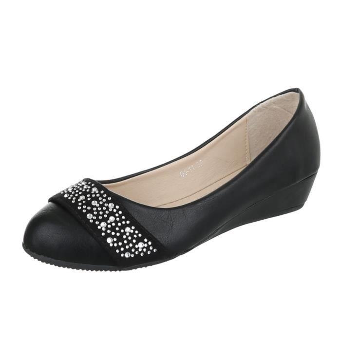 ... sandalette Strass occupé ballerine noir. ESCARPIN femme escarpin  chaussure High-Heels Mules mule san 1ffdb5b79828