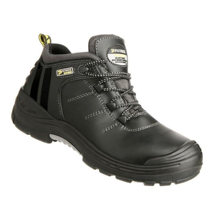 0b95d37f657e Chaussures de sécurité 100% non métalliques Safety Jogger Force2 S3 SRC HRO  HI - Noir