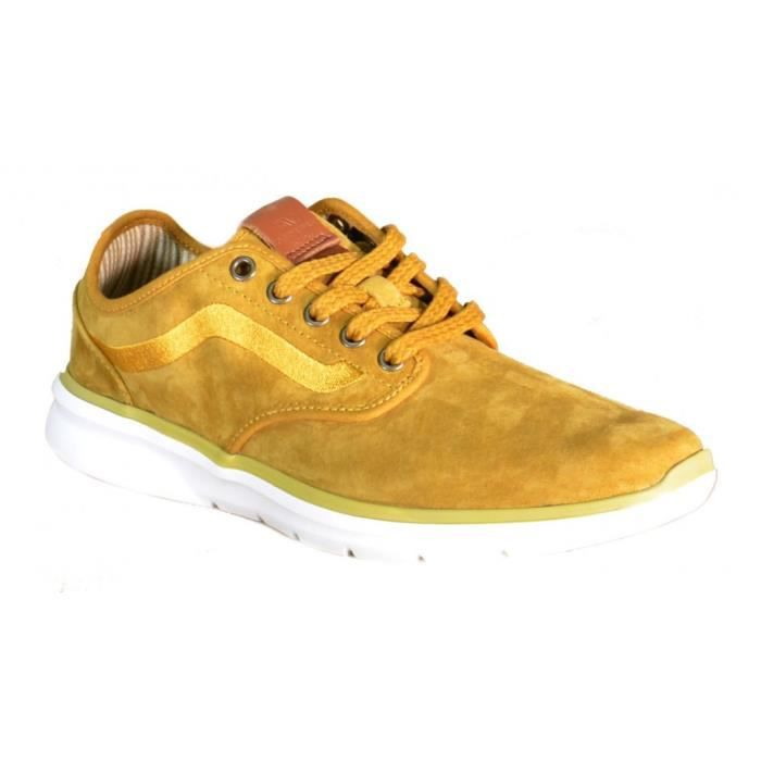 Chaussures 2 Thrush Cuir Pour Vans Iso Homme Marron Wood nSga5Igwx