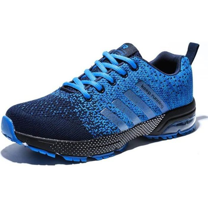 35a18ab4f8b Chaussures de Sport basket Running Respirantes Athlétique Sneakers Courtes  Fitness Tennis Homme