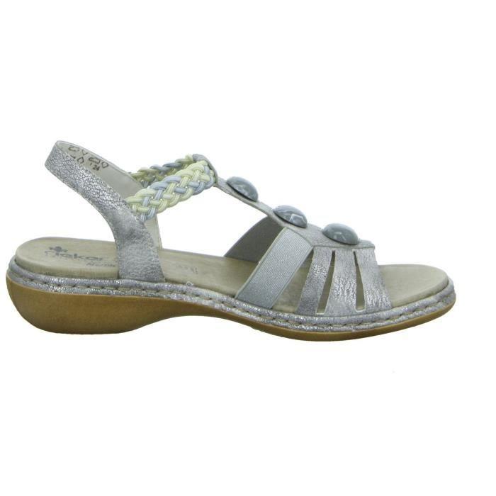 Sandales 65939 argentées