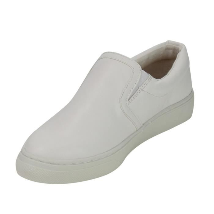 If13 Classic Elastic Panel Slip On Stitched Fashion Sneaker UKJS9 Taille-41