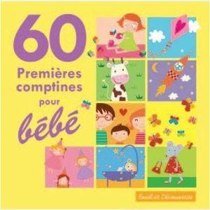 CD COMPTINES - ENFANTS 60 PREMIERES COMPTINES POUR BEBE