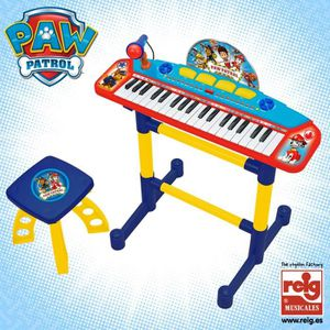 PAT PATROUILLE Clavier électronique - 4 effets de percussion - 8 instruments - 8 rythmes