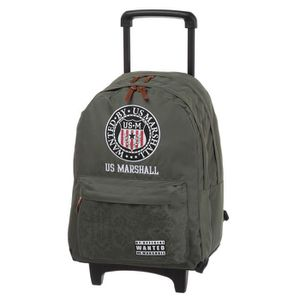 US MARSHALL Sac ? dos avec roulettes 2 compartiments