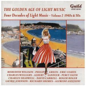 CD AMBIANCE - LOUNGE Four Decades of Light Music - The Golden Age of Li