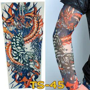 KIT TATOUAGE Bas de bras de manchon de tatouage temporaire en n