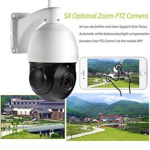 CAMÉRA IP Sans fil WIFI PTZ Dôme IP Caméra Extérieure 1080 P