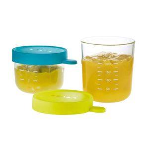 USTENSILES BÉBÉ Béaba Coffret 2 portions verre