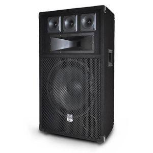 ENCEINTE ET RETOUR Enceinte passive sono DJ 12
