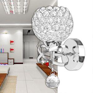Style moderne applique chambre d 39 escalier lampe en cristal led appliques lampes murale achat for Applique chambre fille discount