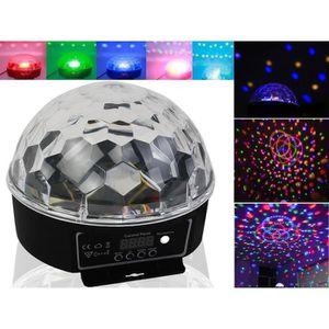 OBJETS LUMINEUX DÉCO  Projecteur boule lampe RGB LED de lumière ciel écl