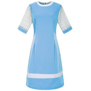 ROBE Robe femme col rond manches court grande taille mo