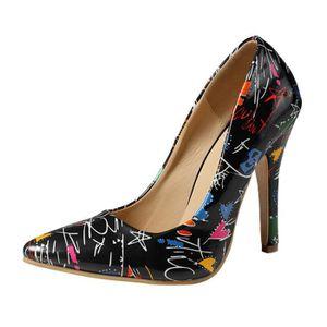 ESCARPIN Chaussures à talons hauts de femmes sauvages Point