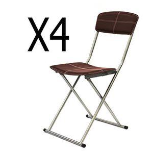 chaise pliante confortable achat vente pas cher. Black Bedroom Furniture Sets. Home Design Ideas