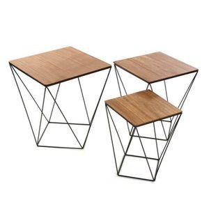 pied de meuble carre metallique achat vente pied de. Black Bedroom Furniture Sets. Home Design Ideas