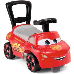 PORTEUR - POUSSEUR CARS 3 - Smoby - Porteur Enfant Auto