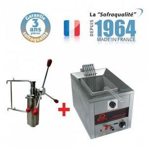 FRITEUSE ELECTRIQUE Machine a Churros - 7 Litres + Doseur a chichis -