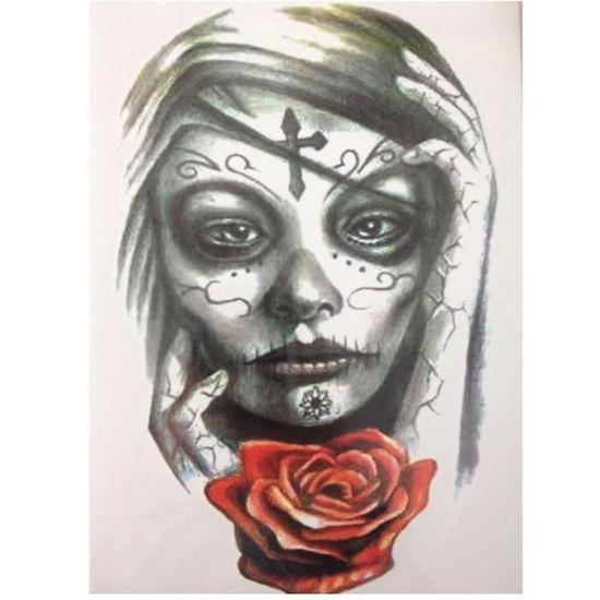 Tatouage Temporaire Ephemere Realiste Motif Femme Demon Achat
