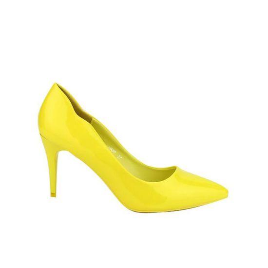 FemmeCendriyon Chaussures FemmeCendriyon Jaune Chaussures EscarpinEscarpins EscarpinEscarpins Jaune vNO8nmw0
