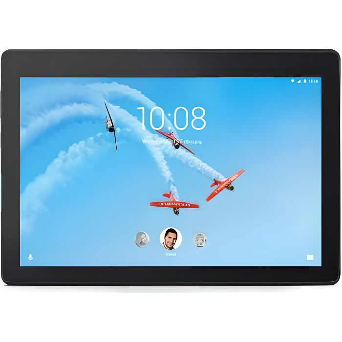 Tablette Tactile LENOVO 10'' HD - 2GB/16GB - Android 8.0 Oreo - Noir