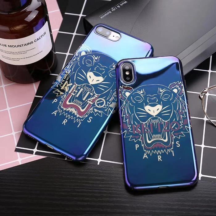 coque bleu iphone 8 plus