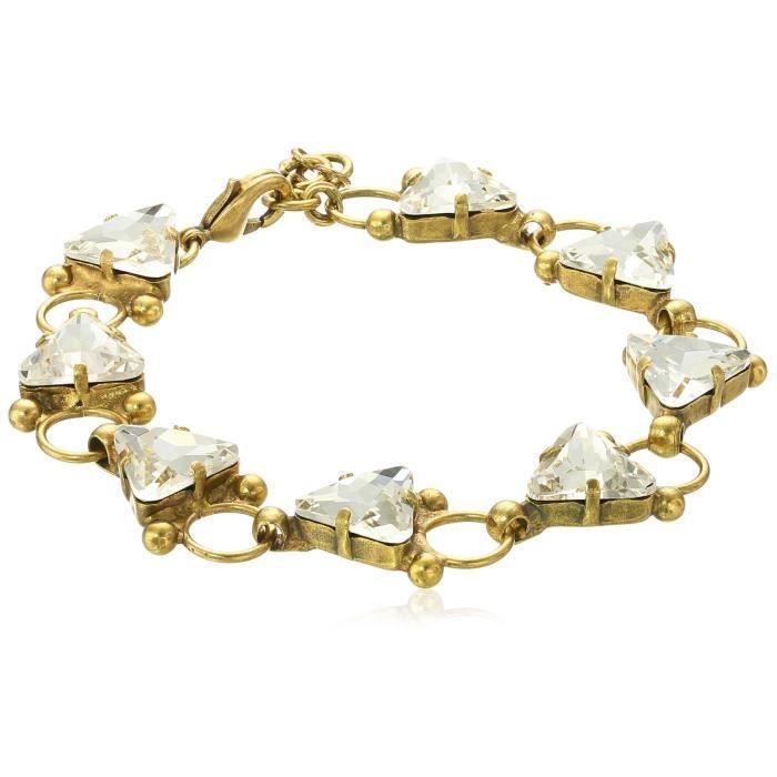 Sorrelli Lisa Oswald Collection Tri Me Bracelet GN30L