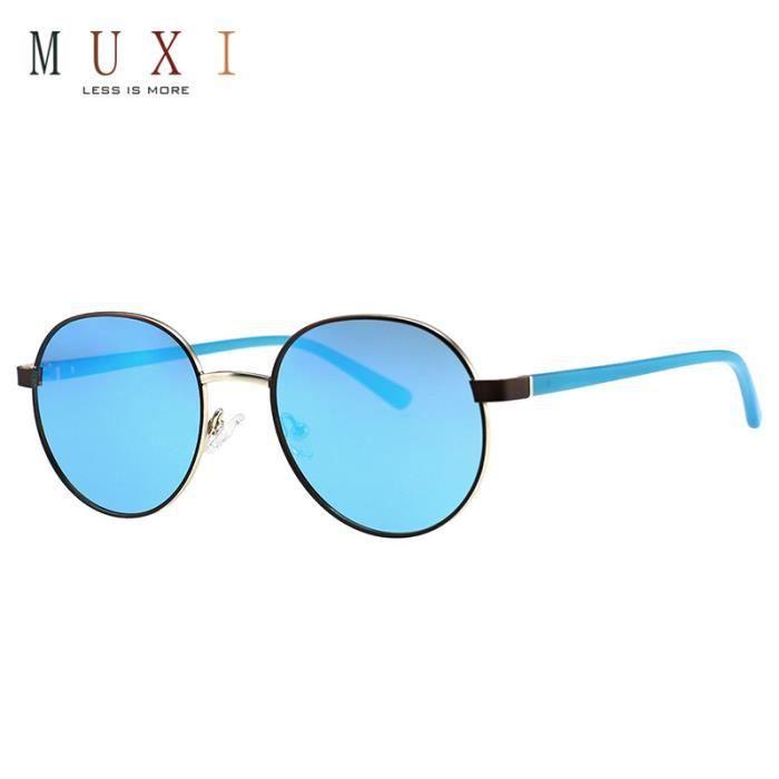 Muxi POK-A18017-01 Lunettes de Soleil Aviator noir Outdoor Lunettes de soleil de conduite