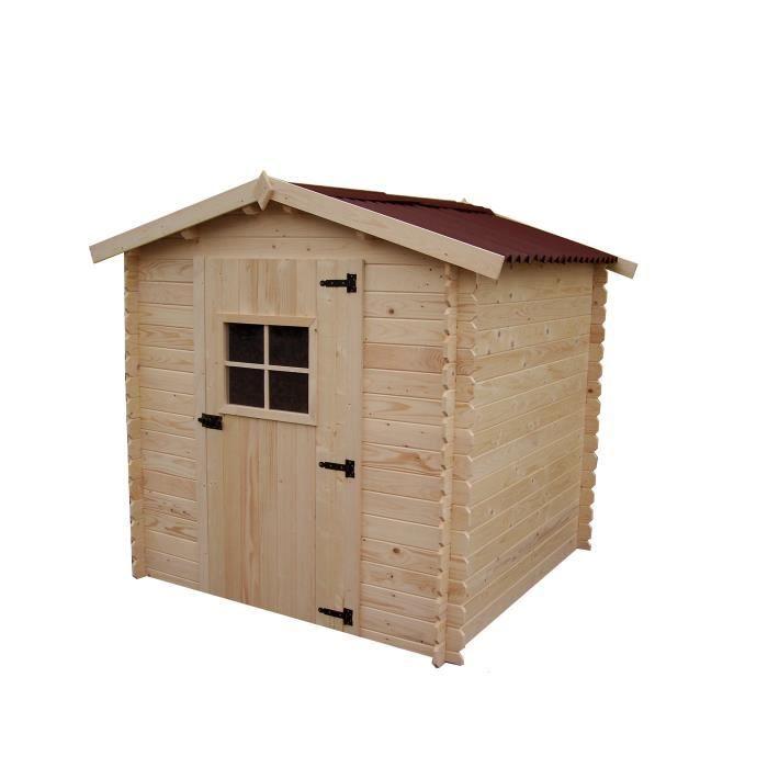 abri de jardin en bois 2x2 m avec plancher m2 achat vente abri jardin chalet abri de. Black Bedroom Furniture Sets. Home Design Ideas