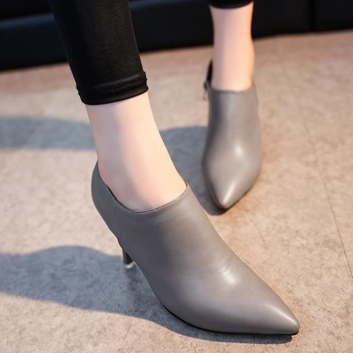Mode pour dames Tendance d'affaires Chaussures à talon