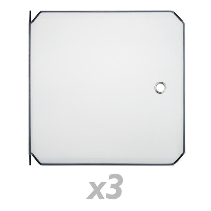 ARMOIRE DE CHAMBRE 3 portes blanches pour armoire penderie cabinet et