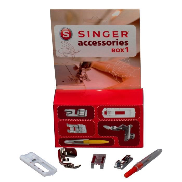 PIÈCE SOIN DU LINGE Accessoire Box 1 - Singer