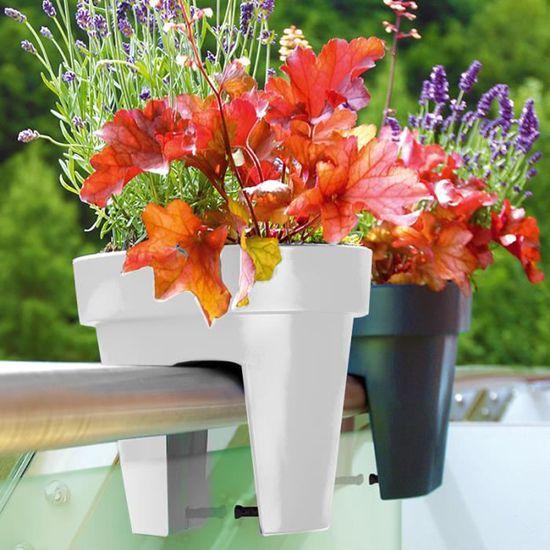 Pots De Fleurs Pour Balcon Terre Cuite Jardinieres Plantation