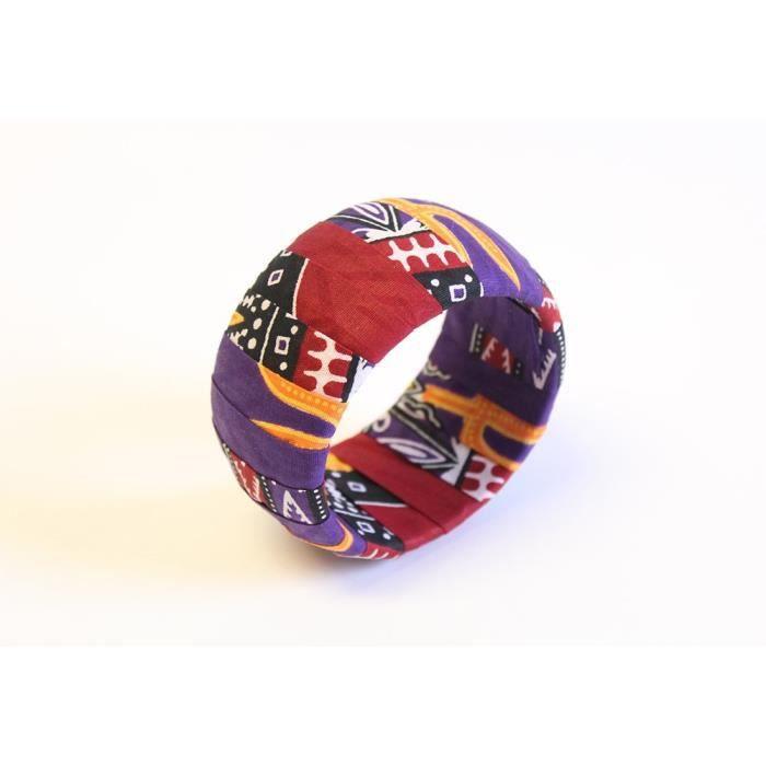 Womens Purple Dashiki Jewelry Set Dashiki Bangle Dashiki Stud Earrings Afrocentric Dashiki Jewelry G2NE4