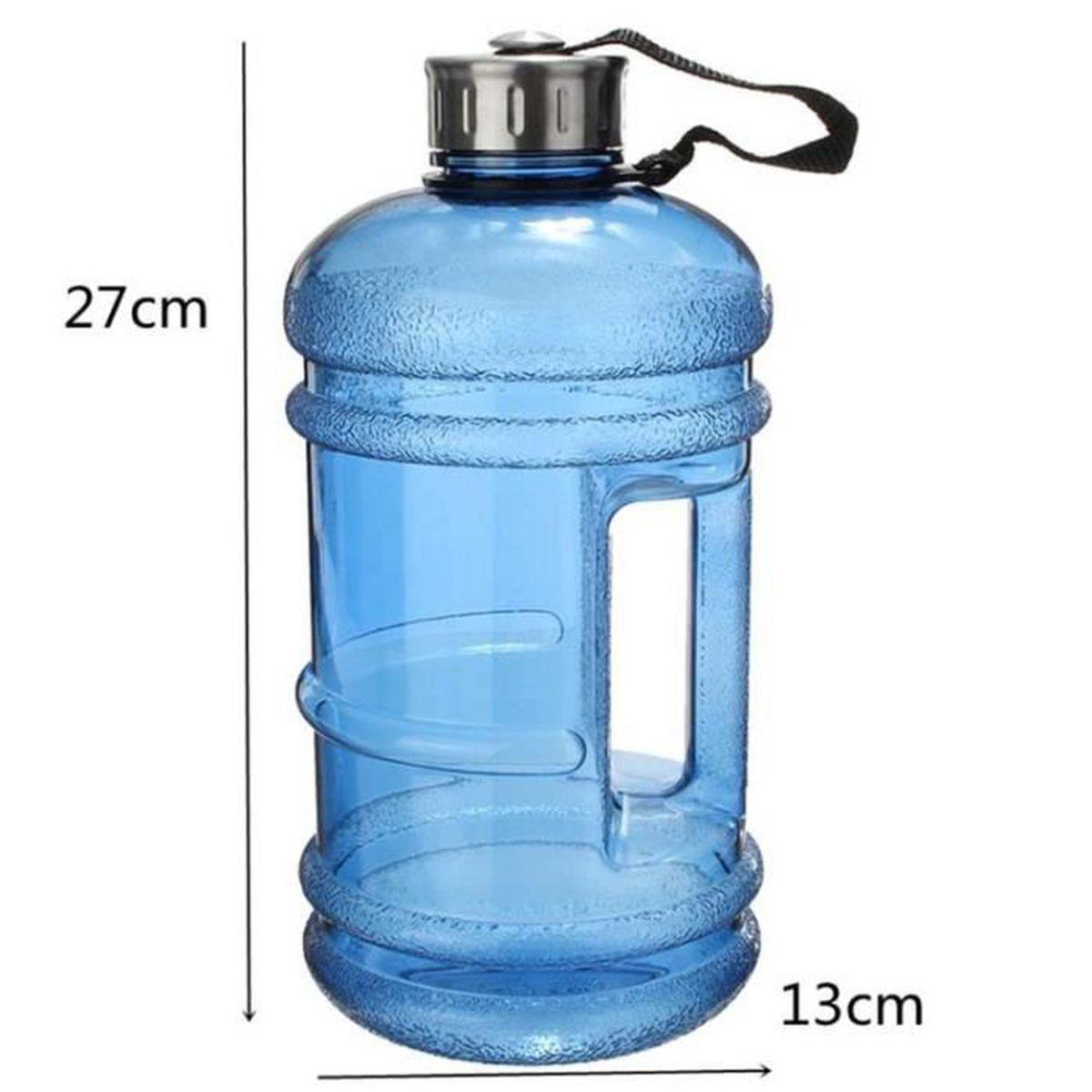 Bouilloire Isotherme se rapportant à 2,2l bouteille d'eau portable bleu clair de grande capacité