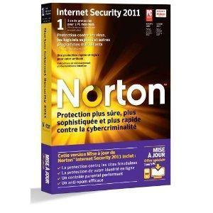 ANTIVIRUS NORTON INTERNET SECURITY 2011 MISE A JOUR 1AN/1PC