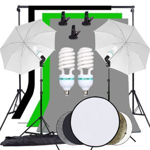 SUPPORT FOND DE STUDIO Kit d'éclairage continu Studio Photo Toile de fond