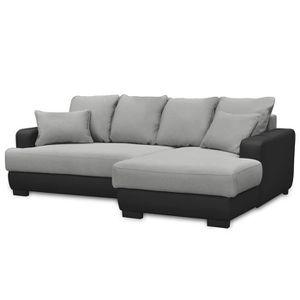 CANAPÉ - SOFA - DIVAN Canapé d'angle Droit Canapé Lit Convertible avec C