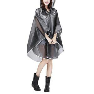 COUPE-VENT DE SPORT Raincoat Cape de Pluie Femme Portable EVA Manteau