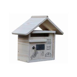 boite aux lettres bois achat vente pas cher. Black Bedroom Furniture Sets. Home Design Ideas