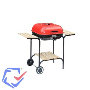 BARBECUE ACTIVA Grill forme rectangulaire chariot avec couv