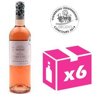 VIN ROUGE x6 Château La Freynelle 2018 - Vins Rosé - AOC Bor