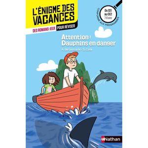 DOCUMENTAIRE ENFANT L'ENIGMES DES VACANCES Attention! Dauphins en dang