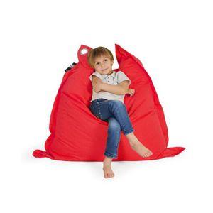 pouf rouge achat vente pouf rouge pas cher soldes d s le 27 juin cdiscount. Black Bedroom Furniture Sets. Home Design Ideas