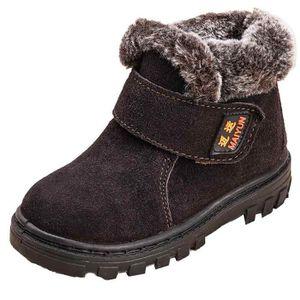 BOTTE Mode Hiver Bébé Enfant Coton Style Boot Bottes cha
